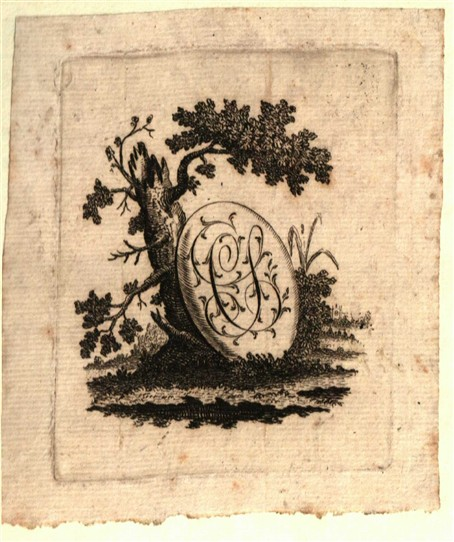 Photo: Illustrative image for the 'Bookplate of Charles Snart of Newark' page