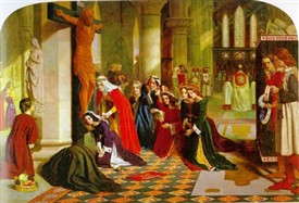 Photo:The Renunciation of St Elizabeth of Hungary