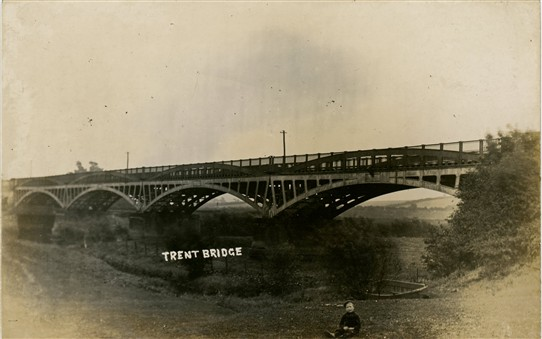 Photo: Illustrative image for the 'A Trent Bridge - or was it?' page