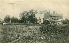 Photo:Tuxford Hall in an early 20th century postcard