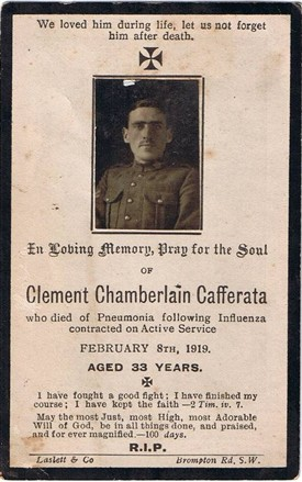Photo: Illustrative image for the 'CAFFERATA, Clement Chamberlain [of Newark]' page