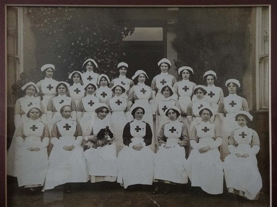 Photo: Illustrative image for the 'Voluntary Aid Detachment Nurses VADs' page