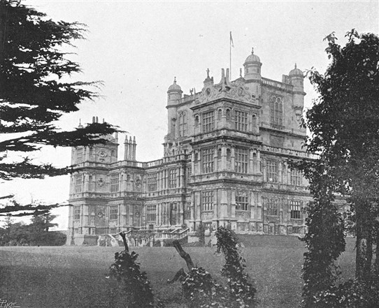 Photo:Wollaton Hall in 1900