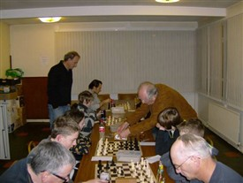 Photo:Newark Chess Club on a Thursday evening at Balderton Working Men's Club