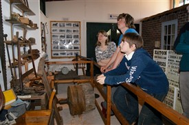 Photo:Young participants in Bassetlaw Museum
