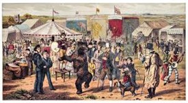 Photo: Illustrative image for the 'Giants, Wolves, Wild Beasts and Fortune-telling Horses at Mansfield' page