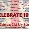 Celebrate 1918 at Hayton village