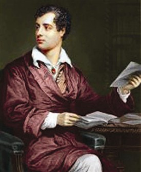Photo: Illustrative image for the 'Lord Byron - Poet & Extrovert' page