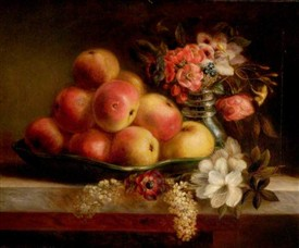Photo:Apples and Flowers by Ann Paulson