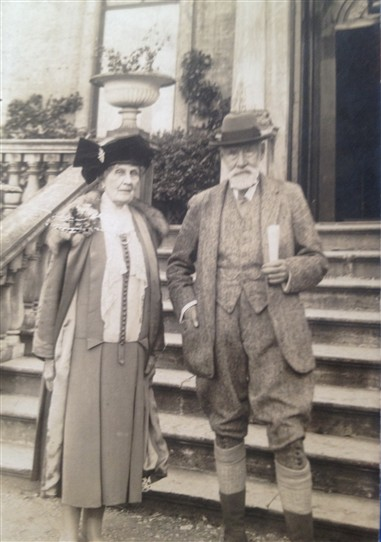 Photo:Lord & Lady Barmby at Blyth Hall