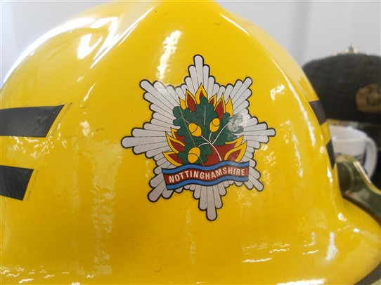 Photo: Illustrative image for the 'Nottinghamshire Fire Service' page
