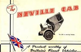 Photo:Early ad for the Neville tilt cab