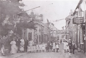 Photo:Union Street in the early 20th century