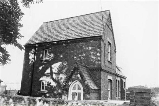Photo:Former village school in 1978