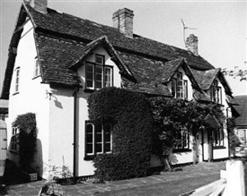 Photo:The Old Forge, Averham.  Photographed in 1977