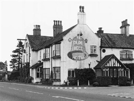 Photo:Barnby Moor, Ye Olde Bell Hotel on the Great North Road, 1961